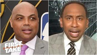 Charles Barkley is completely wrong! - Stephen A. on rift with Michael Jordan | First Take