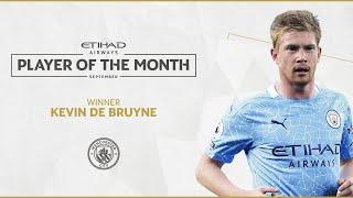 KEVIN DE BRUYNE | ETIHAD PLAYER OF THE MONTH | September 20/21