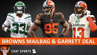 Myles Garrett Contract Extension + Browns Rumors Mailbag On OBJ, Jamal Adams Trade, Jadeveon Clowney
