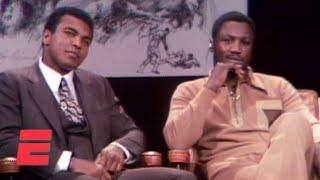 When Muhammad Ali and Joe Frazier got into a fight in a TV studio | Boxing on ESPN