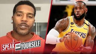 LeBron will always be in the GOAT debate — Jim Jackson | NBA | SPEAK FOR YOURSELF