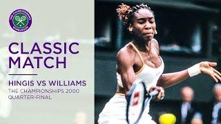 Venus Williams vs Martina Hingis | Wimbledon 2000 Quarter-final | Full Match