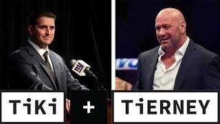 Giants change offense   UFC and social distancing rules   Tiki and Tierney