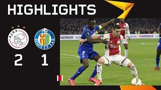 Highlights Ajax - Getafe | UEFA Europa League