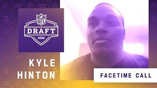 FaceTime Call With Minnesota Vikings Seventh Round NFL Draft Pick Kyle Hinton