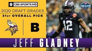 The Minnesota Vikings add a DEPENDABLE CB with Jeff Gladney and the 31st pick | 2020 NFL Draft