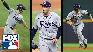 Rays win World Series Game 2: Hear from Blake Snell, Brandon Lowe, & Joey Wendle | FOX MLB