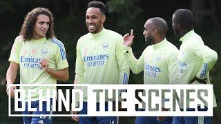 Aubameyang training special   Behind the scenes at Arsenal training centre