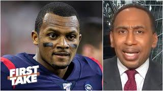 Stephen A. isn't sold on Deshaun Watson having a great season with the Texans | First Take