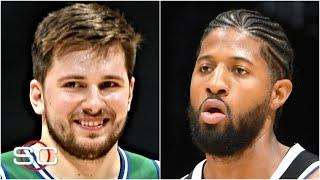 Reacting to the Clippers' blowout loss to Luka Doncic & the Mavericks   SportsCenter