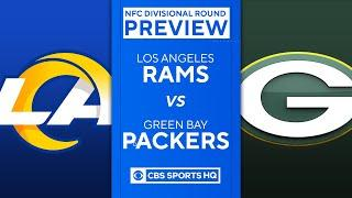 Rams vs Packers: 2021 NFC Divisional Round Preview | NFL | CBS Sports HQ