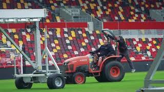 THE WARM UP | Head Groundsman Steve Honey on keeping the pitch in top condition