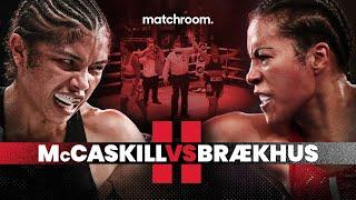 CONFIRMED! Cecilia Brækhus triggers Jessica McCaskill rematch clause
