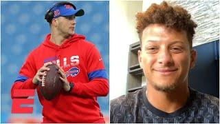 Patrick Mahomes wants a throw-off vs. Josh Allen to prove throwing power | SportsCenter