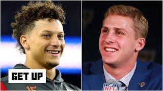 Reacting to Patrick Mahomes & Jared Goff speaking out on racial inequality & social change   Get Up