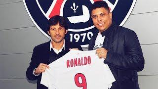 The incredible reason why Ronaldo Fenomeno didn't sign for PSG | Oh My Goal