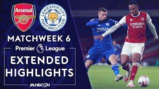Arsenal v. Leicester City | PREMIER LEAGUE HIGHLIGHTS | 10/25/2020 | NBC Sports