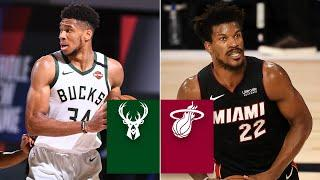 Milwaukee Bucks vs. Miami Heat [GAME 3 HIGHLIGHTS] | 2020 NBA Playoffs