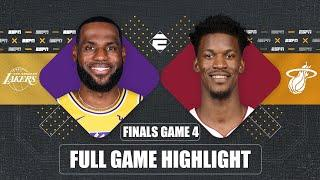 Los Angeles Lakers vs. Miami Heat [GAME 4 HIGHLIGHTS] | 2020 NBA Finals