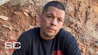 Nate Diaz responds to people picking Leon Edwards to beat him at UFC 263 | SportsCenter