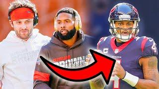 BAKER MAYFIELD AND OBJ TO THE TEXANS FOR DESHAUN WATSON IS THE WILDEST TRADE RUMOR YET!