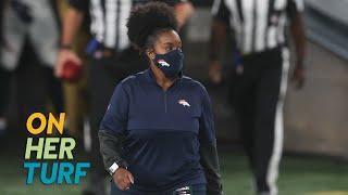 Nicole Linen helping Denver Broncos raise mental health awareness | Football is Female | NBC Sports