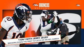 Breaking down Jerry Jeudy's first touchdown catch | Broncos Weekend
