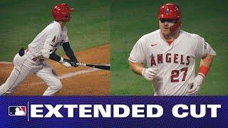 Mike Trout and Shohei Ohtani GO DEEP to help lead the Angels comeback against the A's!