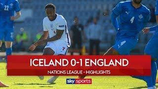 10-man England earn dramatic win after late penalty drama! | Iceland 0-1 England | Nations League