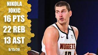 Nikola Jokic records triple-double vs. Clippers [GAME 7 HIGHLIGHTS] | 2020 NBA Playoffs
