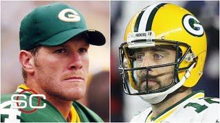 Reacting to Brett Favre's comments about Aaron Rodgers eventually leaving Packers | SportsCenter