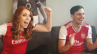 Arsenal fans react to defeating the champions | Arsenal 2-1 Liverpool