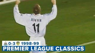 Hasselbaink and Bowyer strike! Newcastle United 0-3 Leeds United | Premier League Classic | 1998/99