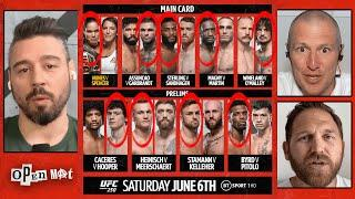 UFC 250 full card breakdown and predictions | Open Mat with Dan Hardy