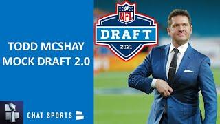 Todd McShay 2021 NFL Mock Draft WITH TRADES: Reacting To His Latest 1st Round Projections