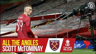 All the Angles | McTominay's FA Cup Cracker | Manchester United 1-0 West Ham | Emirates FA Cup