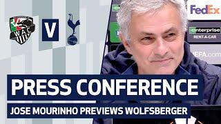 JOSE MOURINHO PRESS CONFERENCE | Wolfsberger v Spurs | Europa League