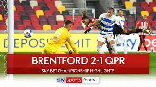 Ivan Toney goal wins West London derby for Brentford! | Brentford 2-1 QPR | Championship highlights