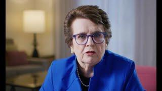 Original 9 Get to Know: Billie Jean King