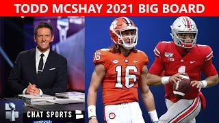 Todd McShay's 2021 NFL Draft Big Board: Way-Too-Early Top 32 Prospect Rankings
