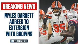 BREAKING: Myles Garrett agrees to deal with Browns worth $125 Million   CBS Sports HQ