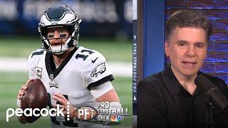 Wheels still spinning for Eagles, Colts after Carson Wentz trade | Pro Football Talk | NBC Sports