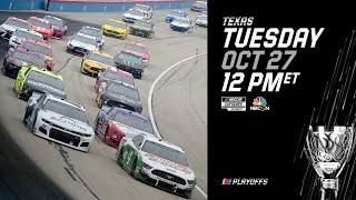 Inside NASCAR's postponement decision at Texas | Race will resume Tuesday, Oct 27 at 12 p.m. ET