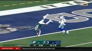 DeSean Jackson Purposely Slows Down To Flip Into End Zone During 81-Yard TD Catch