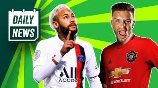 Jack Grealish to Man United + Neymar to leave PSG this summer?  Daily News