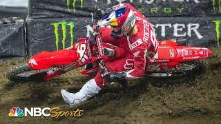 Supercross Round 6 at Indianapolis | EXTENDED HIGHLIGHTS | 2/7/21 | Motorsports on NBC