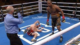 BIG UPSET! Gennady Golovkin BOY KNOCKED OUT on GGG Promotions Card!