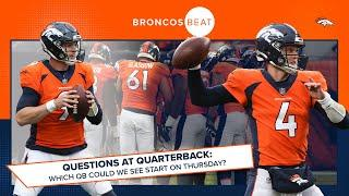 Driskel, Rypien or Bortles: Which QB fits best for Broncos on Thursday? | Broncos Beat