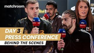 Fight Week, Day 3: Ritson vs Vazquez - Press Conference (Behind The Scenes)