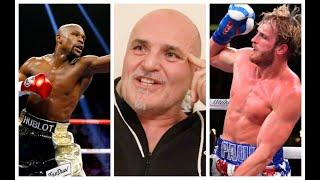 JOHN FURY GIVES HILARIOUS RANT ON FLOYD MAYWEATHER v LOGAN PAUL - 'YOU CANT PUT C*** IN FRONT OF ME'
